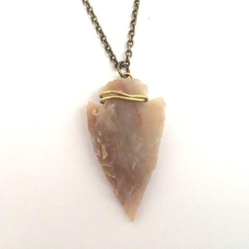 Men's Arrowhead Necklace