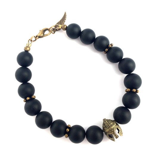 Sparta Black Onyx Bracelet