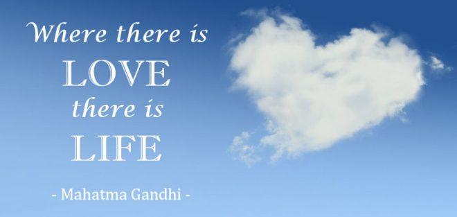 Valentine Quote Ghandi