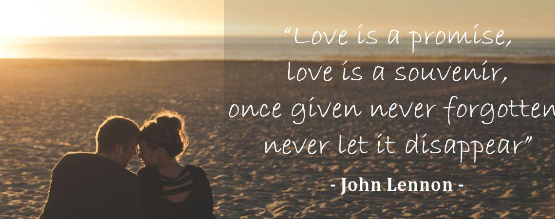 Valentines Quote John Lennon