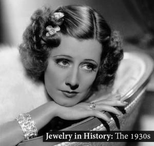 Jewelry / Jewellery in 1930s