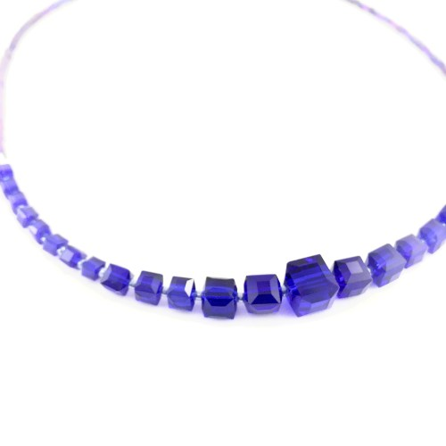 Crystal cube jewellery online gifts for women uk