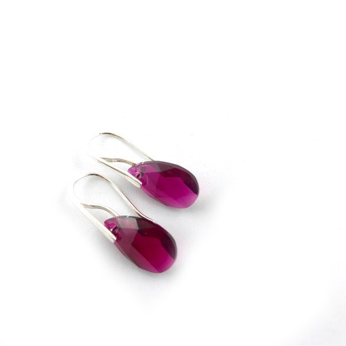 Sterling silver swarovski earrings online uk
