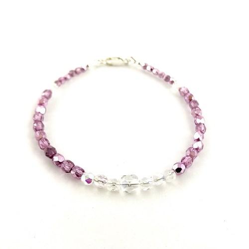 Pink Crystal bracelet online uk