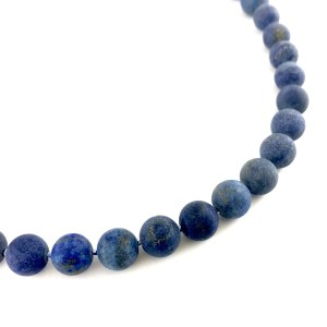 Lapis Lazuli gemstone necklace online uk