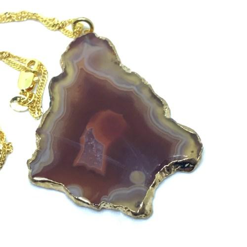 Agate necklace online uk