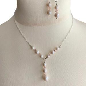 Swarovski Pearl & Crystal Necklace Set
