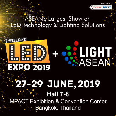 LED Expo Thailand 2019 + Light ASEAN