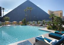 Las Vegas Pools Lounge Chairs & Cabanas - Luxor Hotel