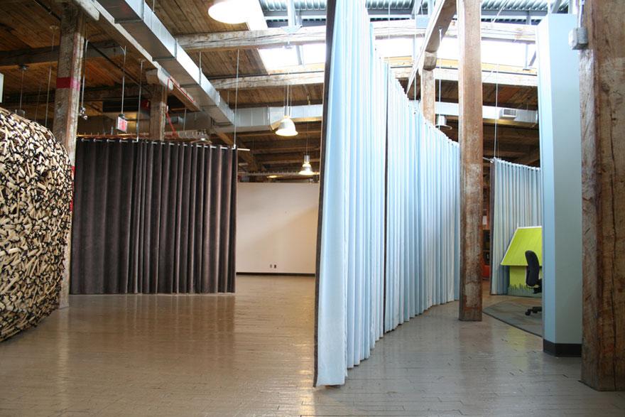 room dividing curtains