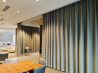 Dividing A Room Using Curtains - Home The Honoroak