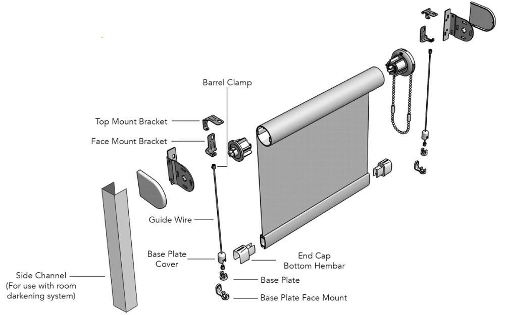 medium resolution of shade wiring diagram