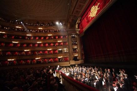 platea Teatro alla Scala, Daniel Barenboim, Orchestra della Scala