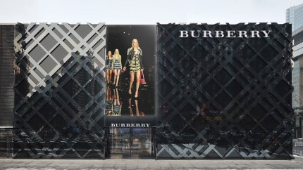 burberry flagship store sparkle roll, beijing