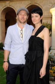 Actor Joel Edgerton and Michele Janks