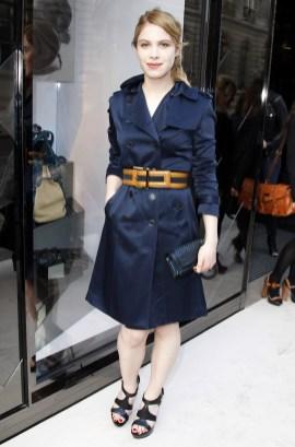 Hande Kodja at the Burberry Eyewear event in Paris0001