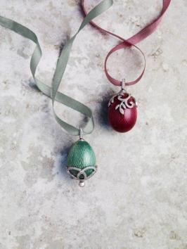 Enamel Eggs Oeuf Nina Email et Diamants