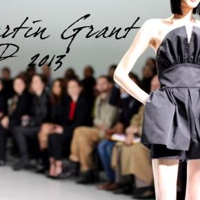 Martin Grant collection femme prêt à porter printemps été 2013