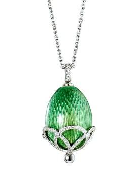 Oeuf Olga Email et Diamants