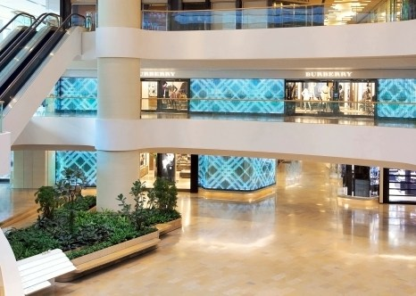 Burberry Flagship Store, Pacific Place, Hong Kong