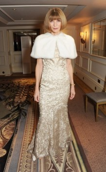 anna wintour at the 58th london evening standard theatre awards in association with burberry