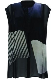 graphic sleeveless shirt