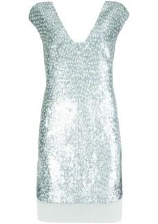 metalic dress