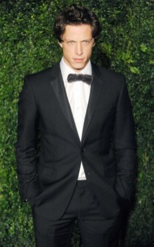 rob pryor wearing burberry at the 58th london evening standard theatre awards in association with burberry