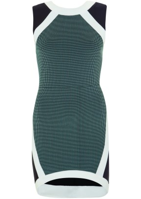 panel bodycon dress