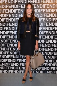 Ana Girardot @ FENDI FW 13-14 Fashion Show