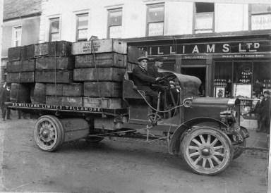 D.E Williams_Motor_Lorry