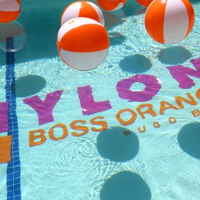 Festival Coachella : Poolside Party by BOSS Orange