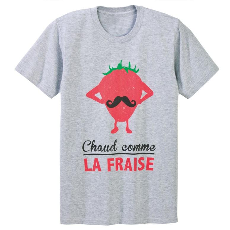 CHAUD COMME LA FRAISE