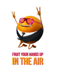 FRUIT YOUR HANDS UP