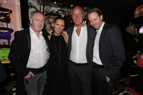 Godfrey Deeny (Le Figaro), Ginta Gelvan (Marketing and Communications Director of AP), Garry Hogarth (CEO of AP), Thorsten Eimuth (Co-Founder of Stylebop.com)