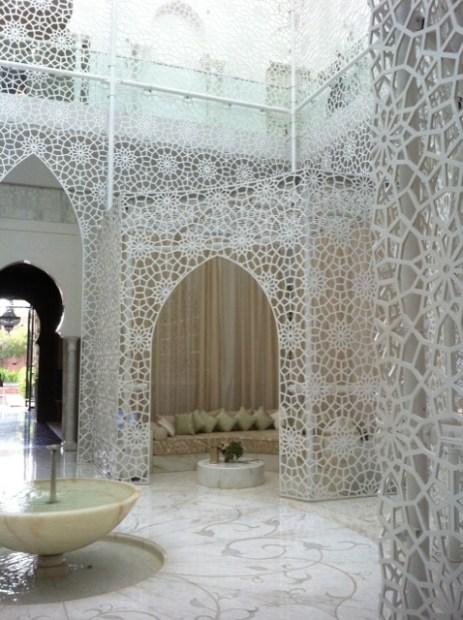 Le sublime Spa du Royal Mansour
