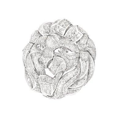 Bague Lion Mosaique J60441