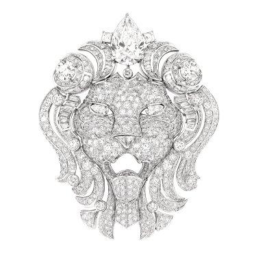 Broche Lion Royal J60388