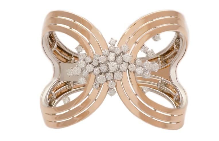 Damiani - Sophia Loren - Pink gold bracelet with diamonds 20056580