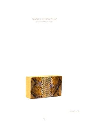 Nancy Gonzalez Box Clutch 1