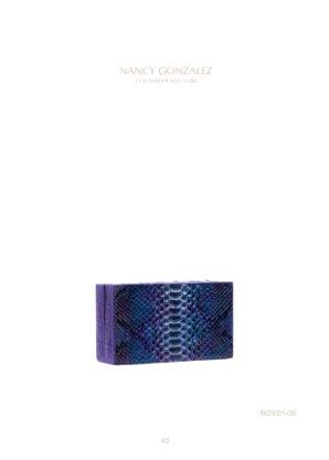 Nancy Gonzalez Box Clutch 3