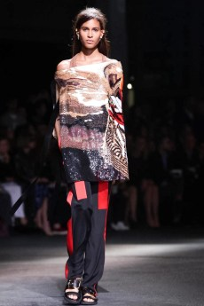 Givenchy, fashion show, ready to wear, collection spring summer 2014 in Paris
