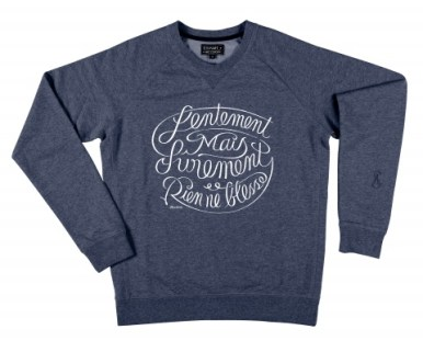 Sweatshirt--STEP-ART-ICONOPRESS-RIen-ne-Blesse