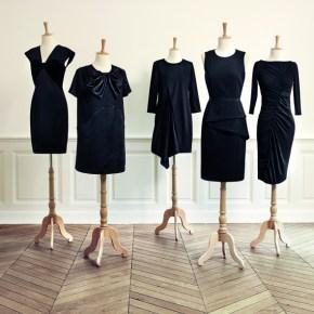 La petite robe noire revisitée par 5 couturiers pour Monoprix