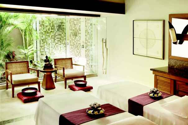 Les tables de massage du Spa