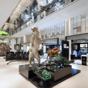 Le Carrousel du Louvre acceuille Le Printemps
