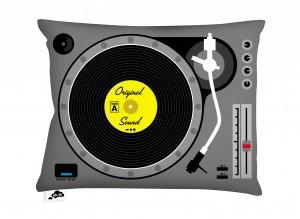 AK-LH - Techno DJ Coussin - Cushion