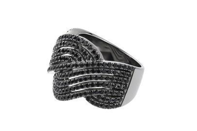 BA Masha or noir diamants noir 1,7ct - 4600 euros