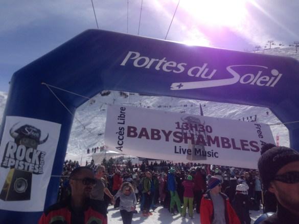 Babyshambles live au festival Rock the pistes