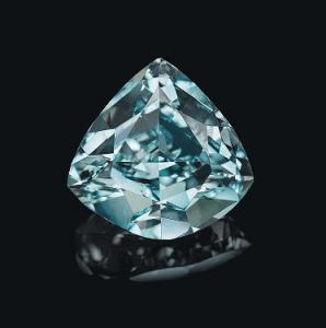 diamant bleu vert